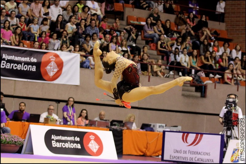 natalia garcia campeonato barcelona 2015