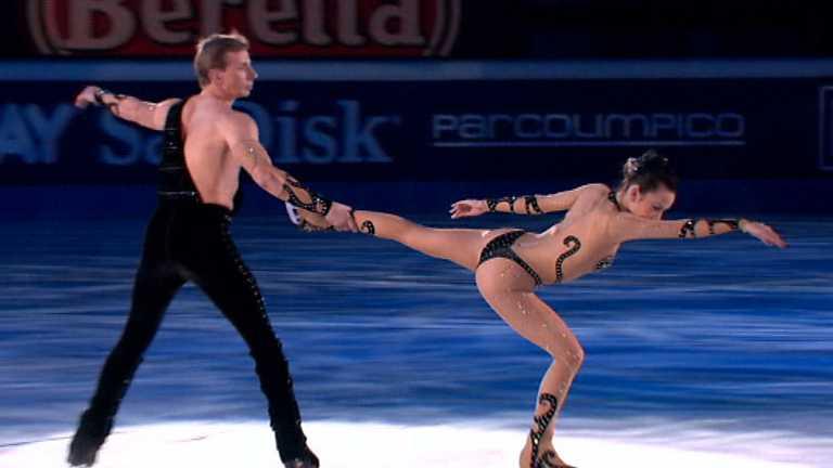 patinaje pareja