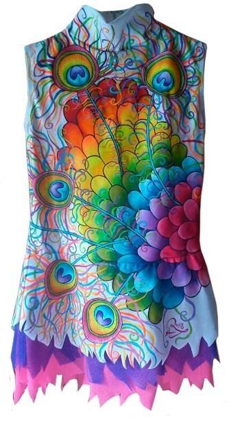 maillot pintado a mano